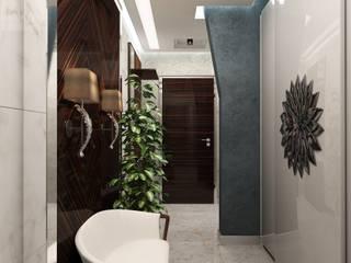 โดย Anfilada Interior Design มินิมัล