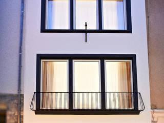 SOON appartements Straßenansicht:  Häuser von Architekturbüro Götz Oertel