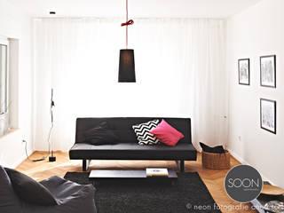 Salas de estilo minimalista por Architekturbüro Götz Oertel
