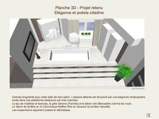 Salle de bain:  de style  par Corinne Decerle Architecture et Décoration d'Intérieur