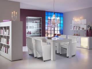 Mesa de Comedor Blanco de Livingo España Moderno