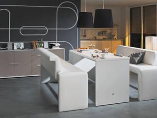 Mesa de Comedor Blanco de Livingo España Minimalista