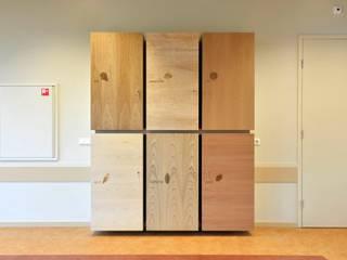 Kast MEC is ontworpen en gemaakt door Songs from the wood, de samenwerking tussen Berry van Gerwen en Marlies van Geenen van Marlies van Geenen, Meubelwerkplaats Scandinavisch