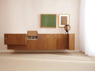 Dressoir Moderne kantoorgebouwen van Marlies van Geenen, Meubelwerkplaats Modern