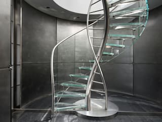 ​EeStairs® Glass Staircases EeStairs | Stairs and balustrades Corridor, hallway & stairsStairs Glass