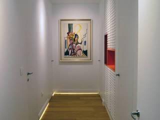 Studio Bugna Pasillos, vestíbulos y escaleras de estilo moderno