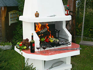 klassischer Garten von Barbecue