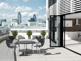 Valverdi Indoor-Out Indoor Outdoor Porcelain Tiles od The London Tile Co. Nowoczesny