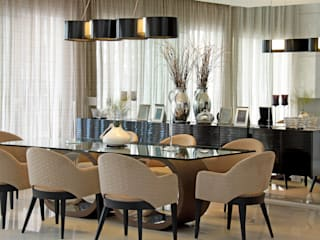 Dining room by ALME ARQUITETURA, Classic