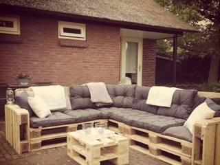 Meubelen van pallets Garden Furniture