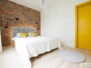 Спальня в скандинавском стиле от Devangari Design Скандинавский