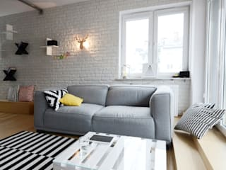 Scandinavian style living room by Devangari Design Scandinavian