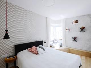 scandinavian Bedroom by Devangari Design