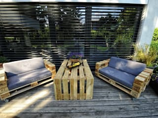 palettenmoebel.at Balconies, verandas & terraces Furniture