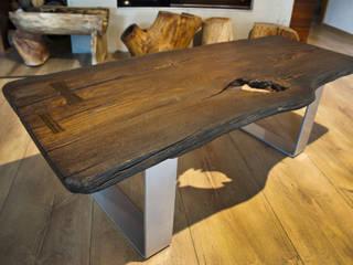 Stolik kawowy: styl , w kategorii  zaprojektowany przez Old Wood Design,