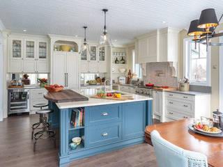 Masif Panel Çözümleri - Serender Ahşap Dekorasyon – Ahşap Mutfak Tezgahı Uygulaması:  tarz Mutfak