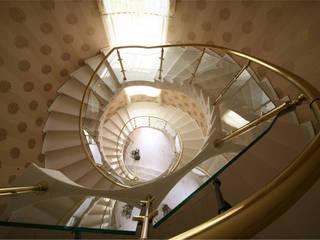 Pasillos, vestíbulos y escaleras eclécticos de Prosperity Ecléctico