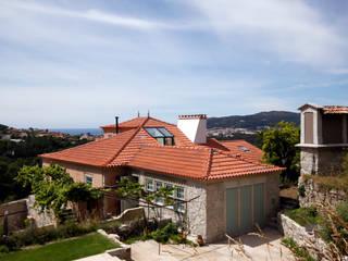Casas rústicas de Branco Cavaleiro architects Rústico