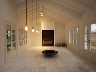 Romano Baratta Lighting Studio Rustic style living room