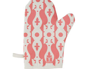 Veranda Oven Glove-Strawberry:   by Castara Designs Ltd