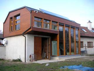 Südansicht:  Häuser von Salonparallel