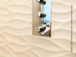 RENOVATION SALLE DE BAINS: Salle de bains de style  par CREATRYS