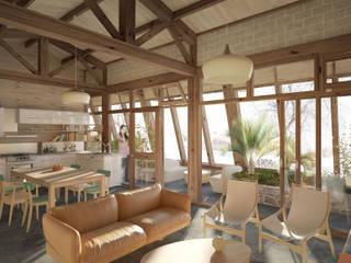 Modern Living Room by archestra Modern