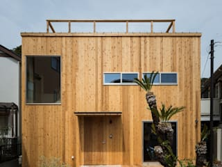 Rumah Gaya Eklektik Oleh エンジョイワークス一級建築士事務所 Eklektik