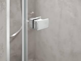 Roth Glasdusche Alina - Design-Griff: klassische Badezimmer von Roth Werke GmbH