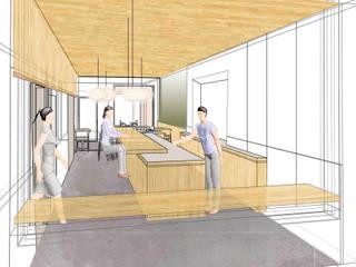 Interieur concept Sushi bar van Studio evo Aziatisch