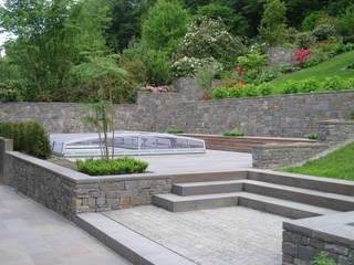 Garten in Hanglage, Schwelm von Planungsbüro Garten und Freiraum Ausgefallen