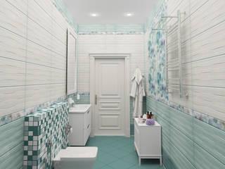 Modern Bathroom by Гурьянова Наталья Modern