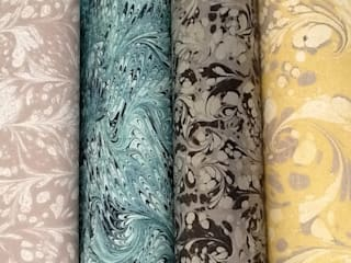 Strata Wallpaper : eclectic  by SHARON JANE, Eclectic