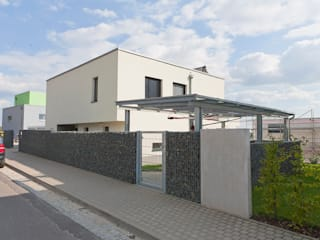 Villa am Markkleeberger See Moderne Häuser von Architekturbüro Schmole und Jäckel Partnerschaftsgesellschaft (PartGmbB) Modern
