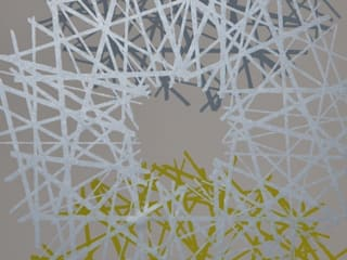 Hepworth hand printed wallpaper : eclectic  by SHARON JANE, Eclectic