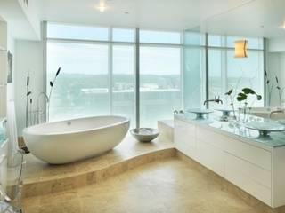 Banyo Dekorasyonu Endüstriyel Banyo Daire Tadilatları Endüstriyel