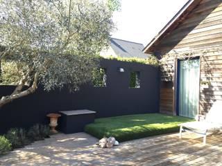 DÉCORATION D'UNE MAISON DE CAMPAGNE Jardin moderne par Pour l'amour des belles choses Moderne