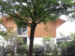 Ansicht West: klassische Häuser von AG5 Architekten + Stadtplaner PartGmbB