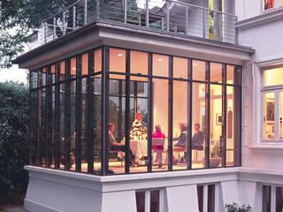 Anbau an Villa in Othmarschen v. Bismarck Architekt Klassische Häuser
