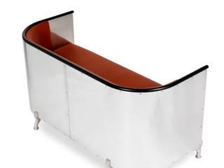 Aluminium Sofa: modern  by Kallemo, Modern