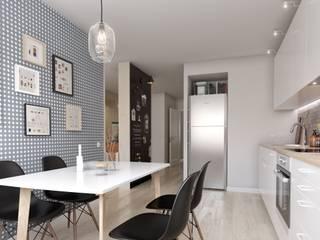 Kitchen by INT2architecture, Scandinavian