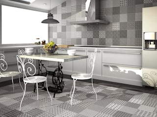Modern kitchen by Gama Ceramica y Baño Modern