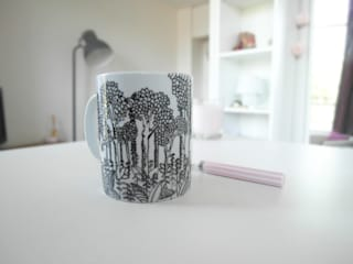 Mugs motif Jungle par Sophie D. Moderne