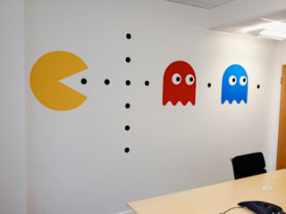 Workplace Graphics: KnowledgeMill Vinyl Impression オフィススペース&店