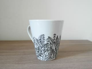 Mugs motif Jungle:  de style  par Sophie D.