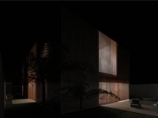 Casa Pátio, em Luanda, Angola Jardins minimalistas por Alberto Vinagre, arquitectos, Lda Minimalista