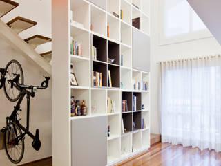 Projeto Araguari Salas de estar modernas por Stuchi&Leite Projetos Moderno