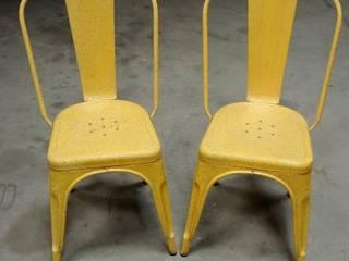 """Paire de chaises Tolix """"A"""" des années 50 par Martin La Brocante Industriel"""