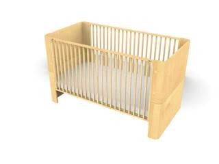 Maya - The Convertible Crib: modern  von Raphael Klaffenböck - Design und Produktmanagement,Modern