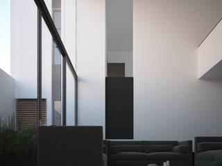 Casa Peto Salones minimalistas de RTstudio Minimalista